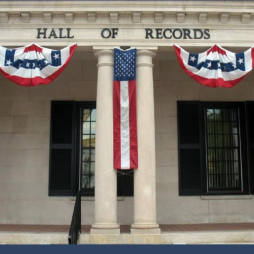 Hall Of Records-Freehold, NJ